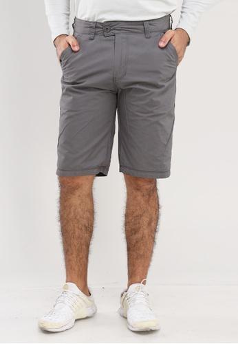 Bossini Men grey Reversible Shorts A4E63AA8FFCDEFGS_1