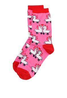 【ZALORA】 Llama In Love 襪子