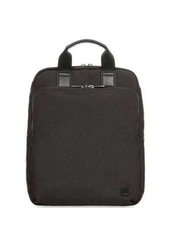"""knomo black James 15"""" Tote Backpack (Black) 6AF86AC38010DBGS_1"""