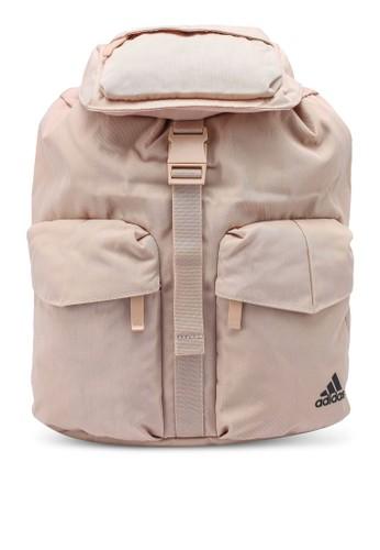 ADIDAS pink flap backpack 7799AACF05C5FFGS_1