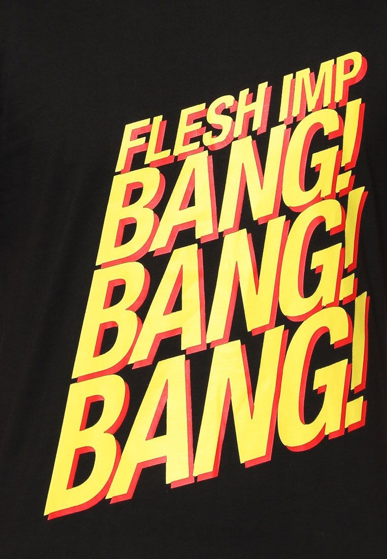 IMP Black Flesh T Bang Shirt UnZw6ttxXq