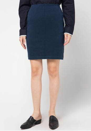 Noir Sur Blanc blue Ladies Skirt NO321AA98HVHID_1