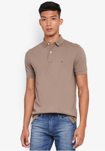 Tommy Hilfiger green TOMMY REGULAR POLO 07285AA35983CAGS_1