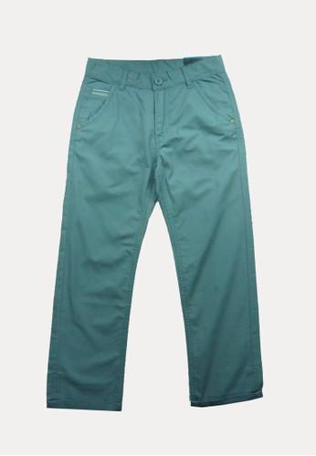 Bossini blue Bossini Kids Boy Long Pants Foggy Blue (03110103046) A6AE8KA6144886GS_1