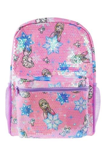 Disney Frozen pink Disney Frozen Sequin Teen Backpack CE785KCCCEF560GS_1