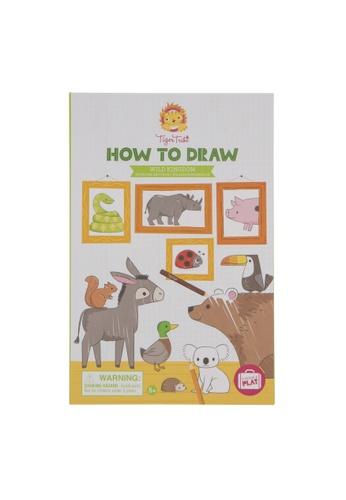 Tiger Tribe How To Draw - Wild Kingdom 762EFTHA75D9BFGS_1