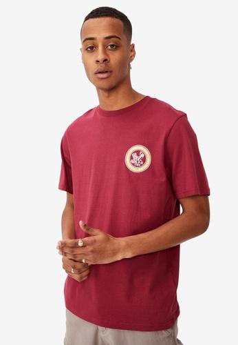 Cotton On pink Tbar Moto T-Shirt 70B3DAA2BD73A6GS_1