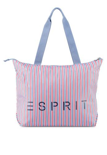 Esprit blue Casual Tote Bag 2EA4CACFB40203GS_1