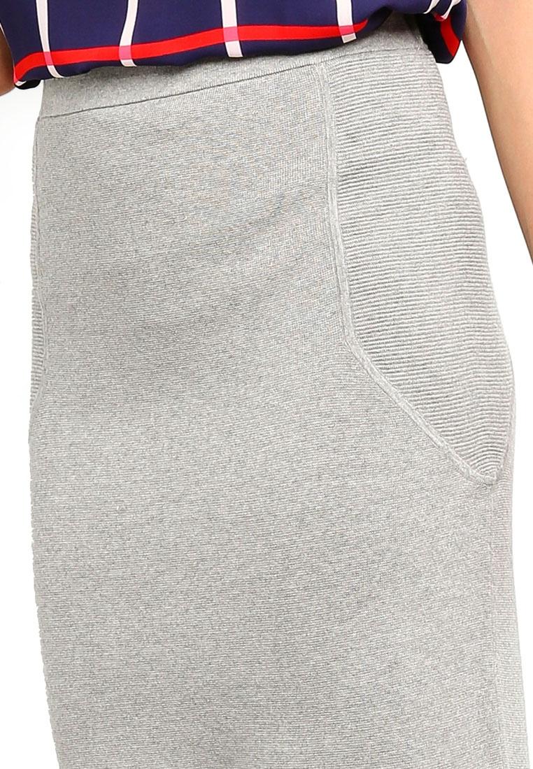 Republic Mix Stitch Pencil Knit Banana Heather Grey Skirt T4zdwTfnq