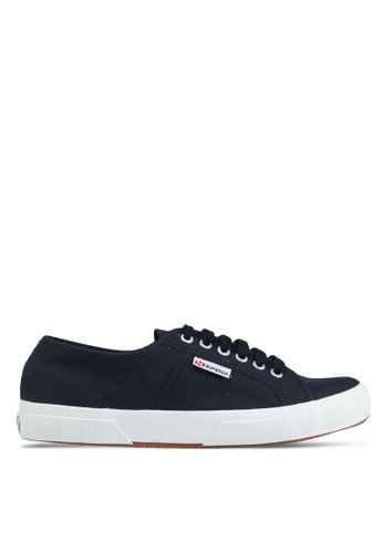 Superga white and navy Cotu Classic Sneakers 838E0SH03DFB71GS_1