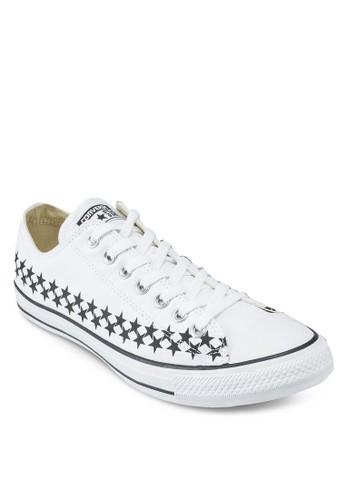 Chuck Taylor All Star Americana Star Print Sneakeesprit服飾rs Ox, 女鞋, 鞋