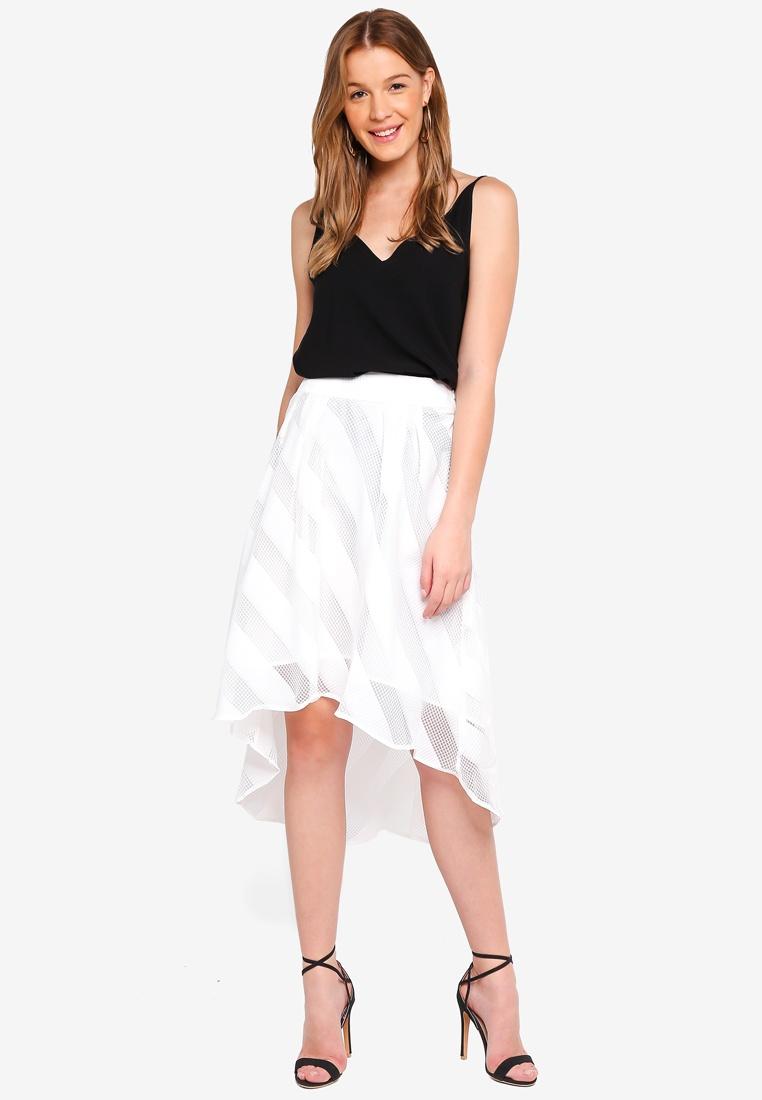Skirt Hi White White Angeleye Low nRwq5z0BF