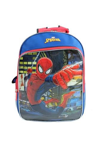 MARVEL red and blue Marvel Kawaii VKS1961 16 inch Spiderman School Bag AEC6AKC3015D39GS_1