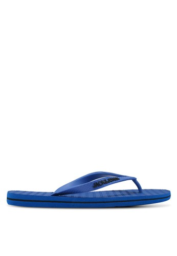 Jack & Jones blue Basic Flip Flops 6A718SH1F2D5D4GS_1