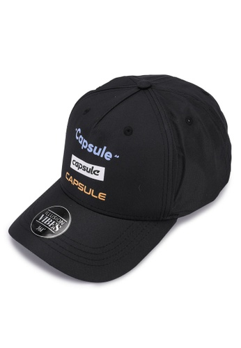 361° black Sports Life Sports Cap 0BD31AC07D1ED7GS_1