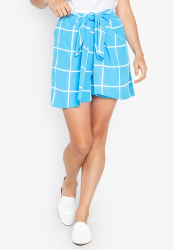 Josie multi Window Pane Skort 7454BAA6FD384EGS_1