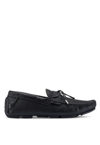 Carlton London black Slip On Loafers 97017SHC919520GS_1