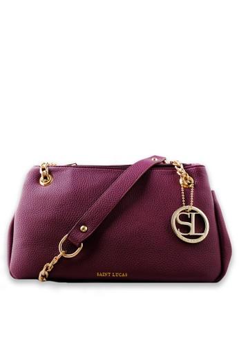 SAINT LUCAS red Saint Lucas Women Bag 11332AC26E05AEGS_1