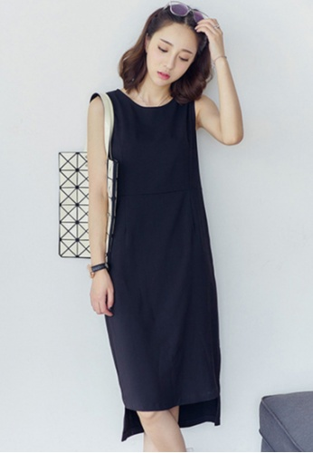 Sunnydaysweety black new summer vest one piece DressA0712100BK A3536AA231EF42GS_1