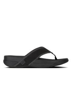 1a05831ea2ea Fitflop black Fitflop Surfer Toe-Post Black  Charcoal F2E45SH2D5B21FGS 1