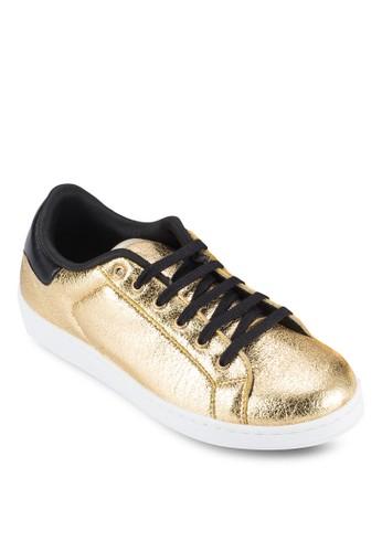 Tecesprit 鞋hnic 閃亮金屬休閒鞋, 女鞋, 鞋