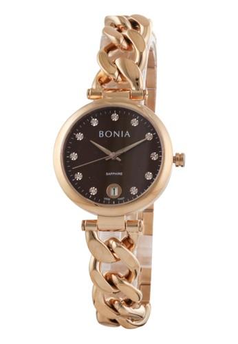 Bonia gold Bonia B10437-2547 - Jam Tangan Wanita - Rosegold 873C2AC05480A3GS_1