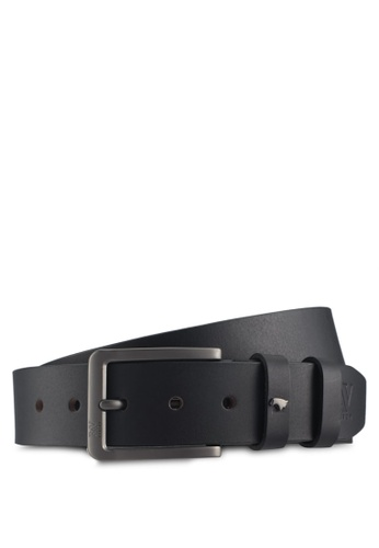 RAV Design black 40mm Leather Belt BDEC7ACBCC7948GS_1