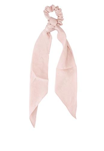 Rubi pink New York Convertible Scrunchie 8912BACBB18E30GS_1