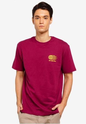 Factorie 多色 短袖印花T恤 2CC36AAEB50547GS_1
