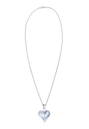 施華洛世奇水晶心esprit 香港 outlet形 925 純銀項鍊, 飾品配件, 項鍊