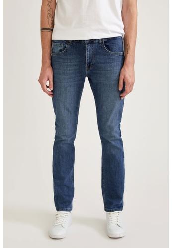 DeFacto blue Man Denim Trouser 45DEAAA1172E51GS_1