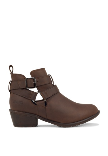 ROC Boots Australia brown Senora Brown Ankle Boot RO289SH19BQYSG_1