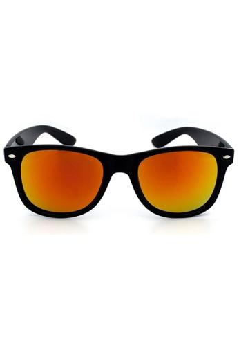 edf4283cbc8 Elitrend orange Unisex Classic Designer Sunglasses in Reflective Red Orange  EL890AC93XDMSG 1