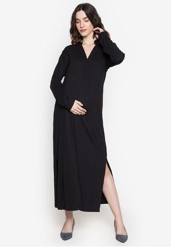 Amelia black Maternity Carlene Dress 2D2BEAAF5D7B9FGS_1