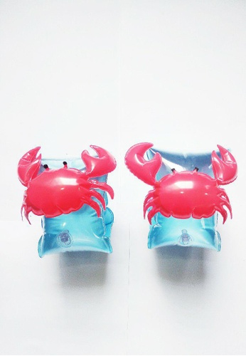 Little Two red and blue Sleeve Arm Ring Crab A1BCAKC368E3D1GS_1