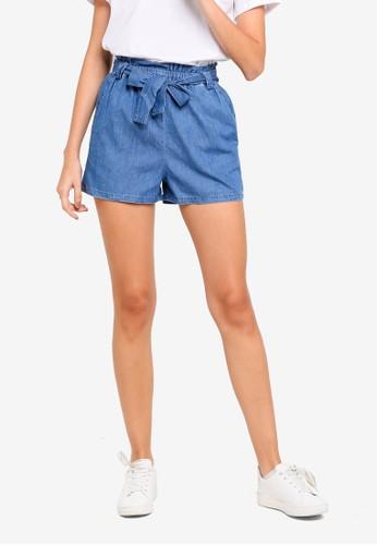 Cotton On black High Waist Shorts 4918EAA48E1FC1GS_1