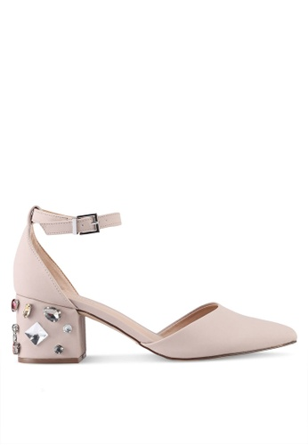 Call It Spring pink Trivio Pump Heels 782F5SHB46252FGS_1