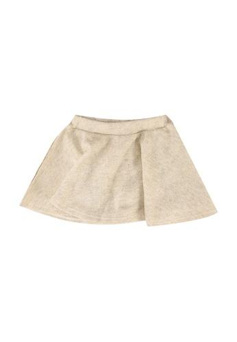 FOX Kids & Baby grey Baby Girl Skater Skirt 5E37CKA6AF22E6GS_1