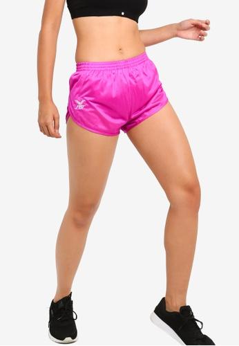 FBT pink Running Shorts Curve Cut A169DAA8BB031FGS_1