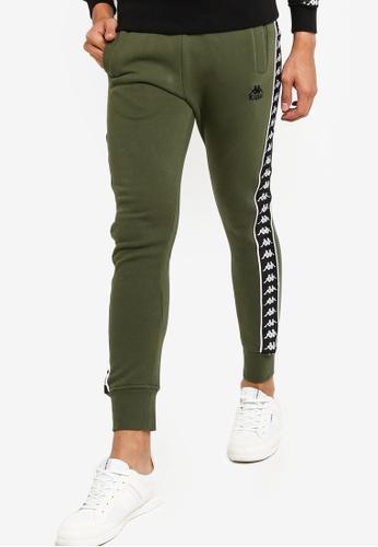 Kappa green Sport Trousers 43A21AADAA312AGS_1