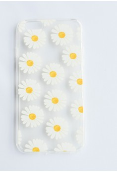 Daisies Soft Transparent Case for iPhone 6/6s