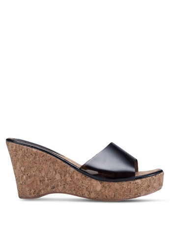 Mimosa black Wedges With Transparent Strap MI013SH03TWISG_1