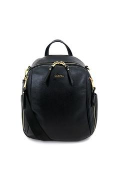 38051f8ee97b04 Carlo Rino black Carlo Rino 0304496C-005-08 Backpack (Black)  F5D8CAC983107CGS 1