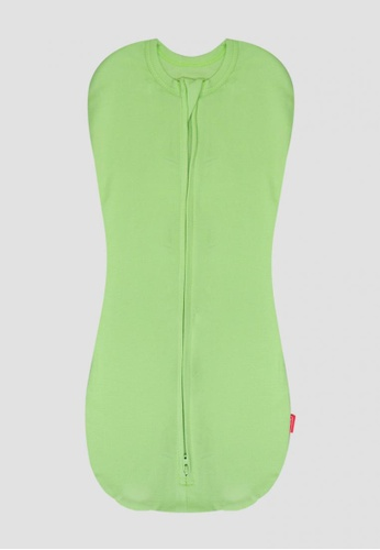 LUNAVIE green LUNAVIE ANTIBACTERIAL SWADDLE POUCH (GREEN) E78D6KC3F86A40GS_1