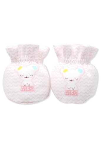 Organic mom pink Pinky Mouse Socks (SPRING) 17AB0KA531A0A0GS_1