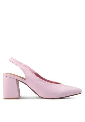Rubi pink Davis Block Heels 9DE21SH7F3A44FGS_1