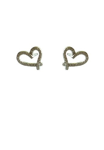 Miliyah Co silver Heart 925 Earring 8EB4BACCCF6F02GS_1