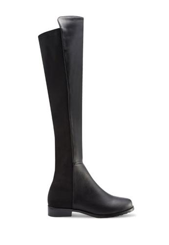 Twenty Eight Shoes black Slim Elasic Long Boots 5050-1 TW446SH12HGHHK_1