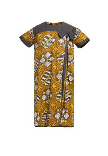 ARJUNA WEDA yellow Girl Batik Jlamprang Isi 73AA6KA623AB96GS_1