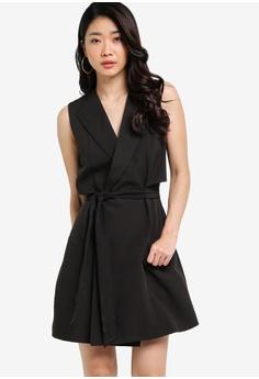 Long dress high neck x ray